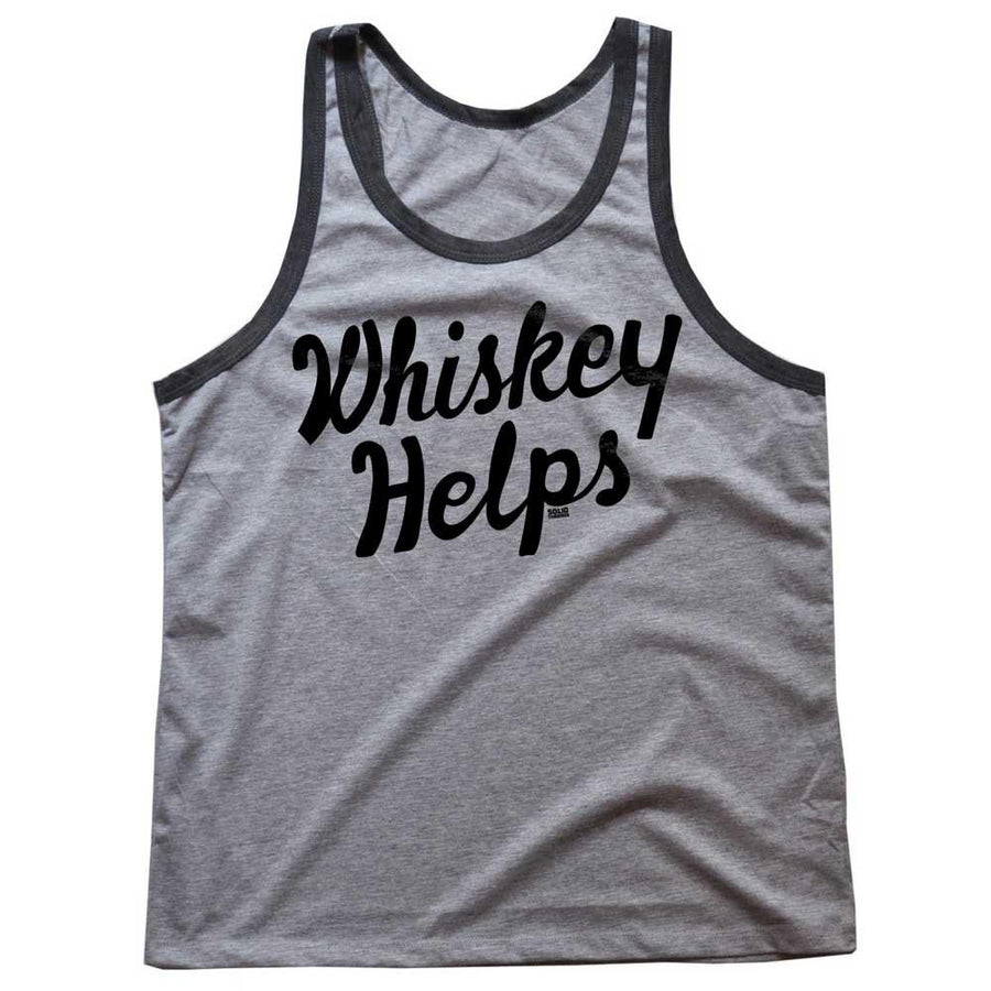 Whiskey Helps Tank Top