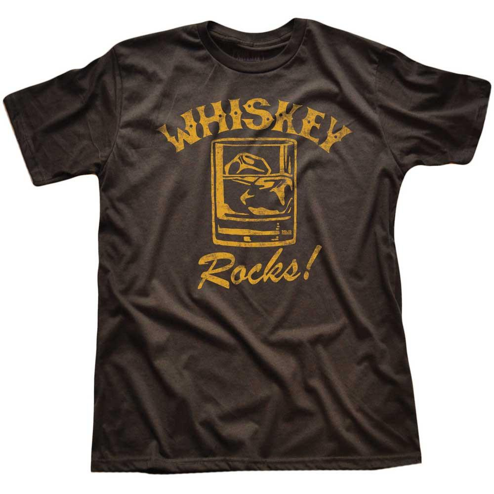 Whiskey Rocks Vintage Inspired T-shirt | SOLID THREADS