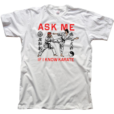 Ask Me If I Know Karatae Vintage Inspired T-shirt | SOLID THREADS