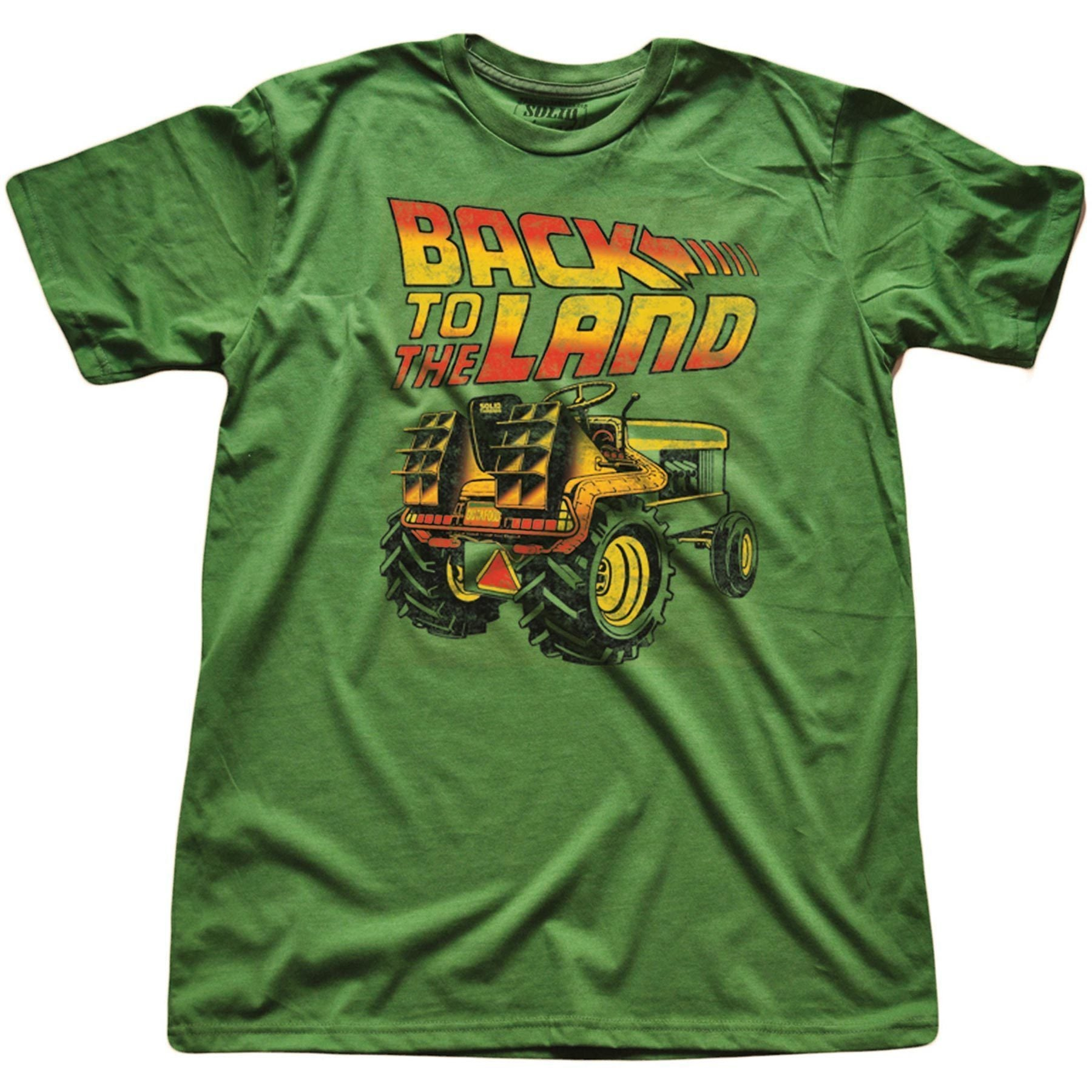Back To The Land Vintage T-shirt | SOLID THREADS