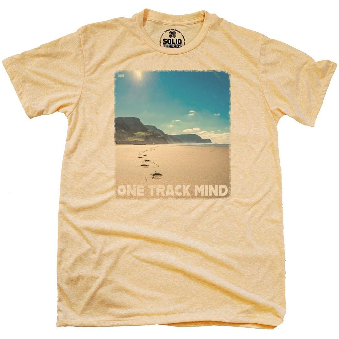 Beach Track Vintage Inspired T-Shirt | SOLID THREADS