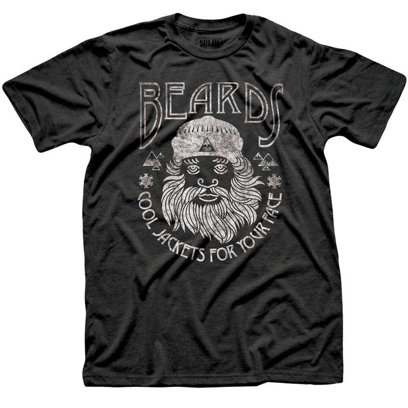 Beards, Cool Jackets For Your Face T-shirt