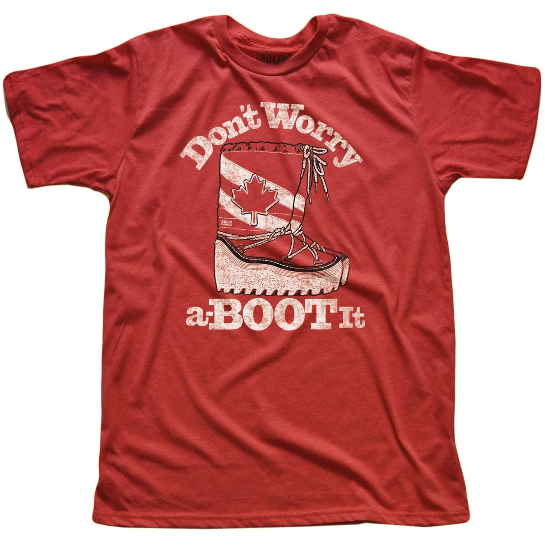 Don't Worry a-BOOT It Vintage Inspired T-shirt | SOLID THREADS