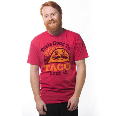 Feels Good To Taco Bout It Vintage Inspired T-shirt on Model | SOLID THREADS
