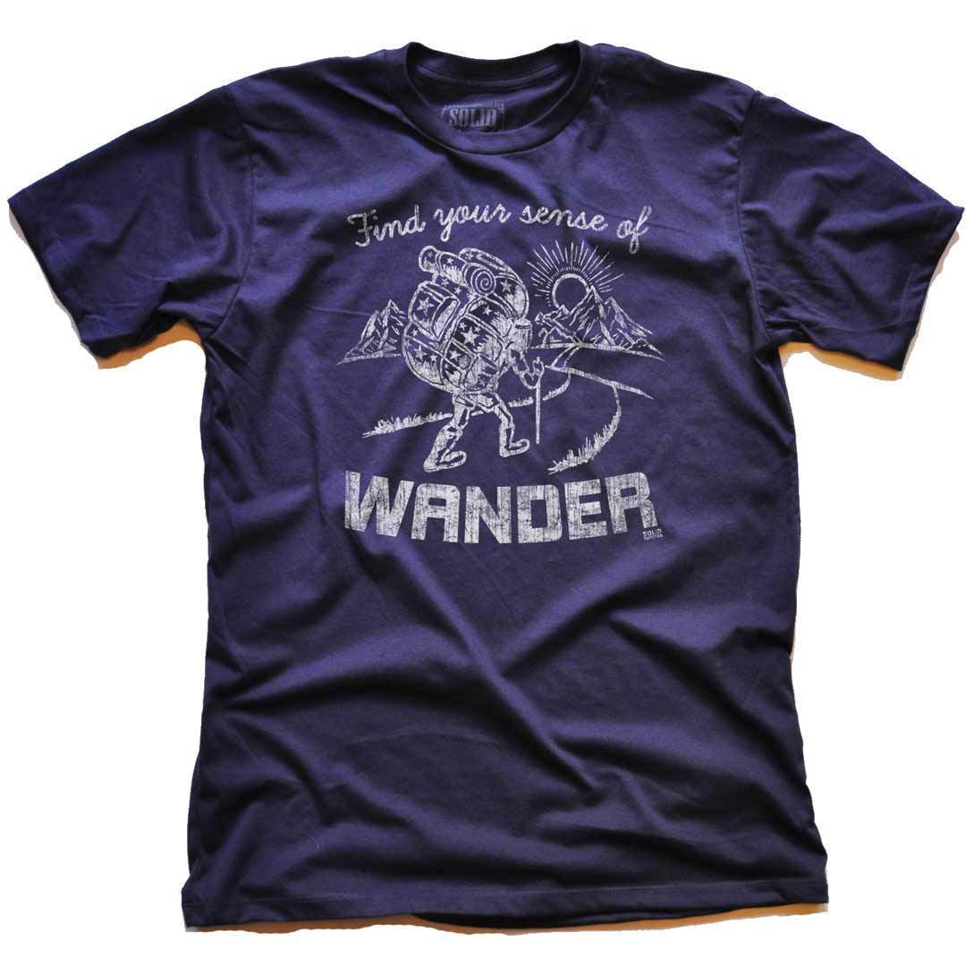 Find Your Sense Of Wander Vintage Inspired T-shirt | SOLID THREADS
