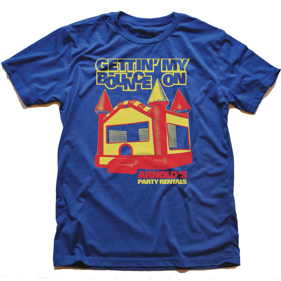 Gettin My Bounce On Vintage Inspired T-shirt | SOLID THREADS