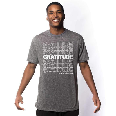 Gratitude Vintage Inspired T-shirt on Model | SOLID THREADS