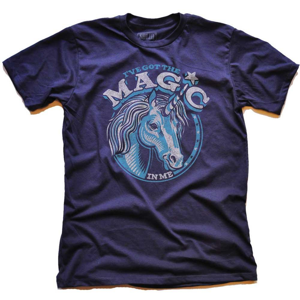 Magic Unicorn Vintage Inspired T-shirt | SOLID THREADS