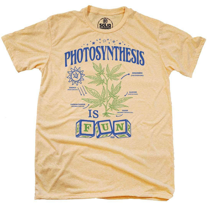 Photosynthesis Vintage Inspired T-shirt | SOLID THREADS