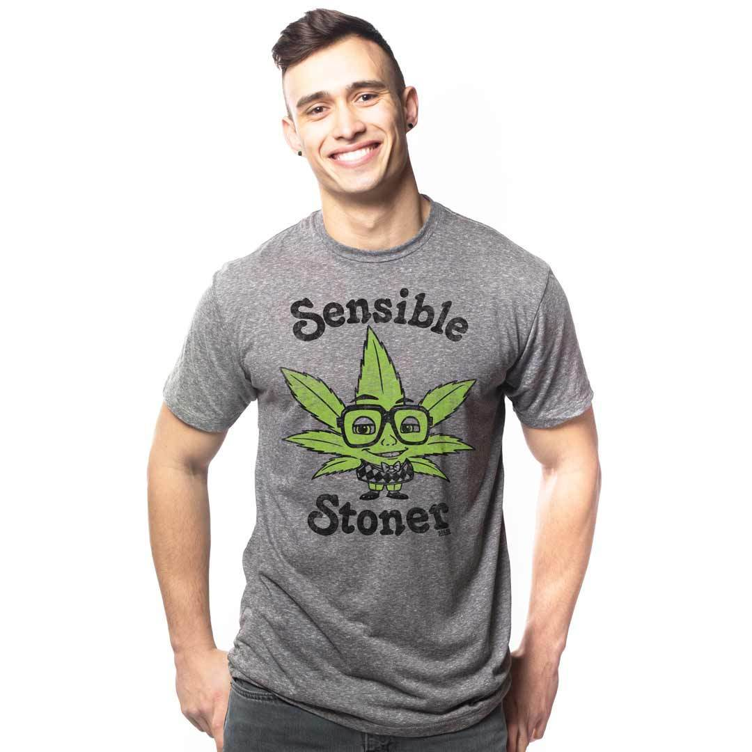 Sensible Stoner Retro Marijuana T-shirt | SOLID THREADS