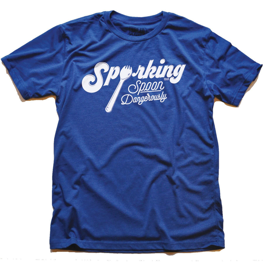 Sporking, Spoon Dangerously Vintage T-shirt | SOLID THREADS