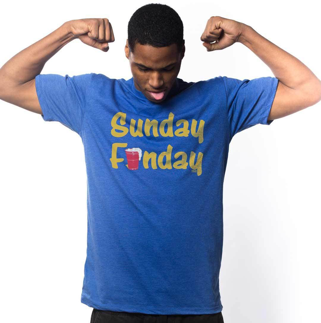 Sunday Funday Vintage Inspired Drinking T-shirt | SOLID THREADS