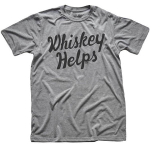 Whiskey Helps T-shirt