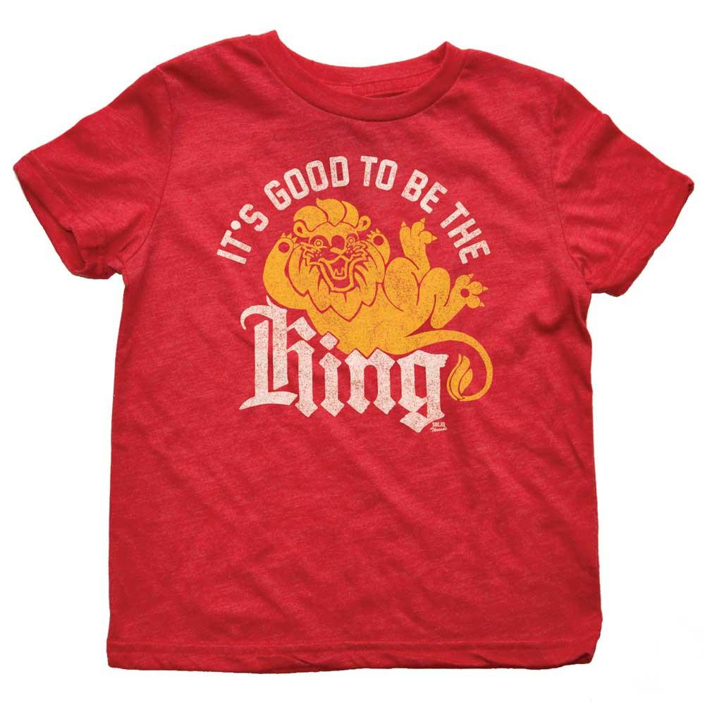 Toddler's It's Good To Be The King Retro Tee | SOLID THREADS