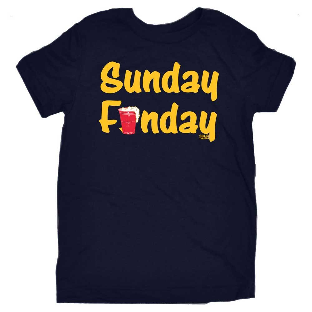 Toddler's Sunday Funday Retro Tee | SOLID THREADS