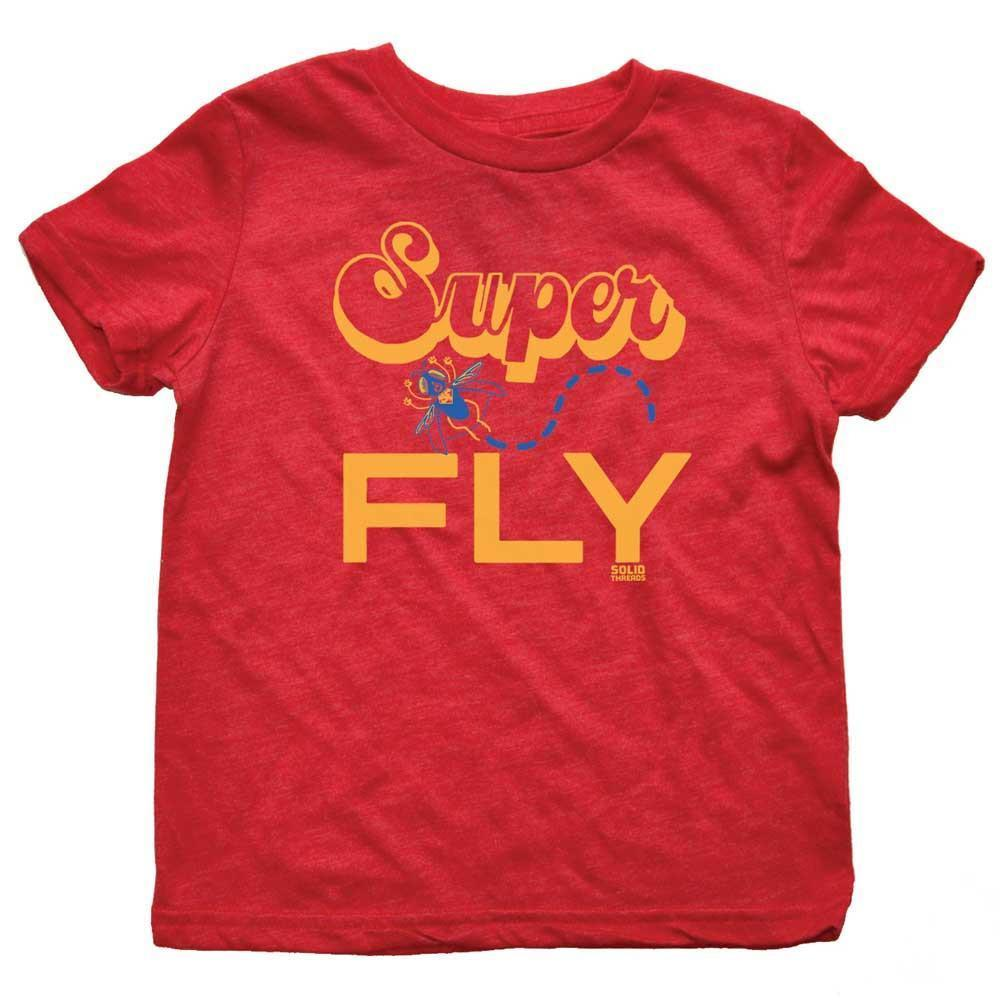 Toddler's Superfly Retro Tee | SOLID THREADS