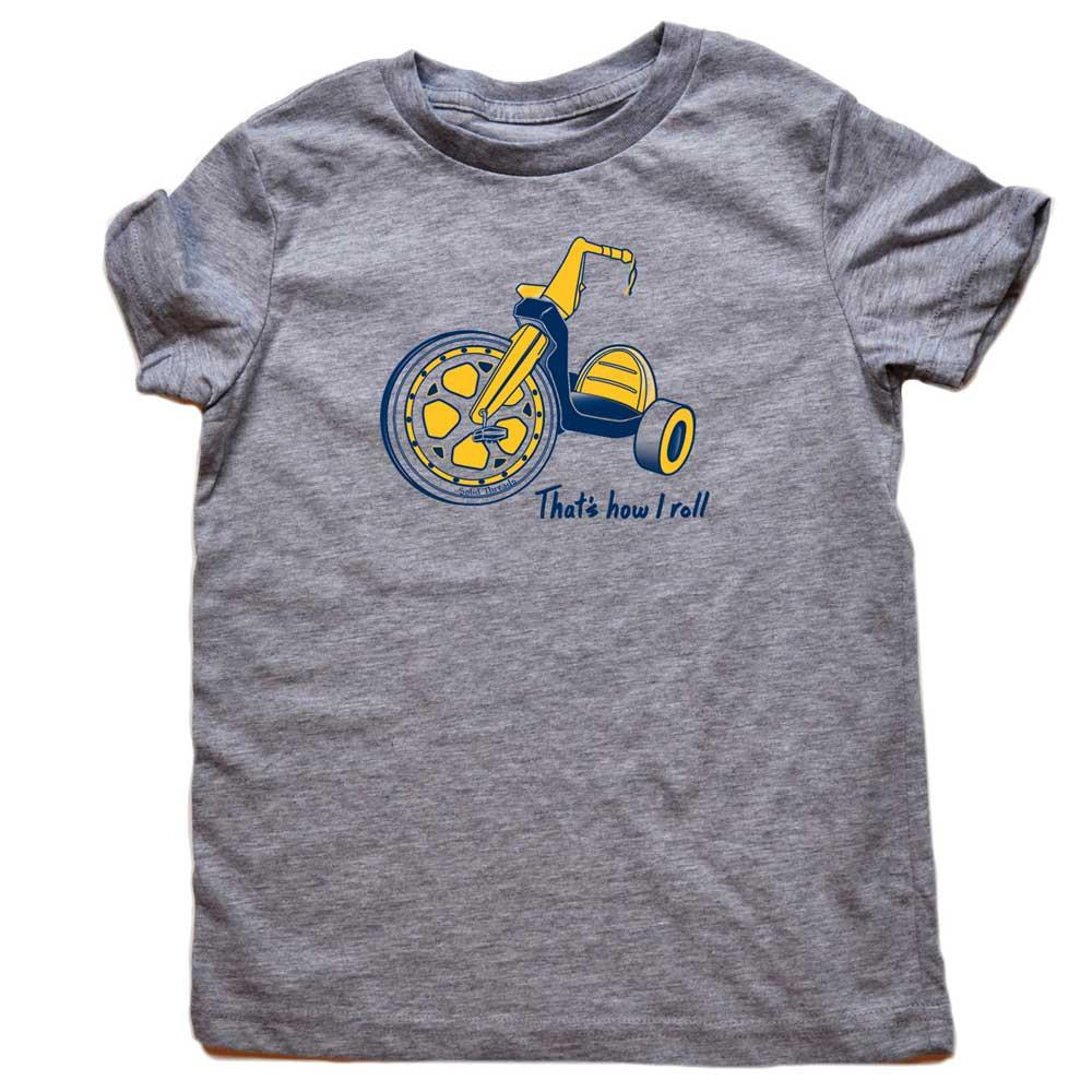 Toddler's That's How I Roll Retro Tee | SOLID THREADS