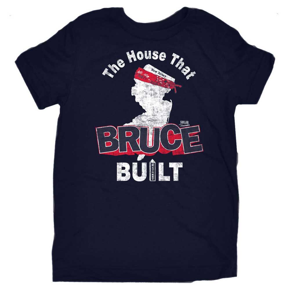 Toddler's The House That Bruce Built Retro Tee | SOLID THREADS