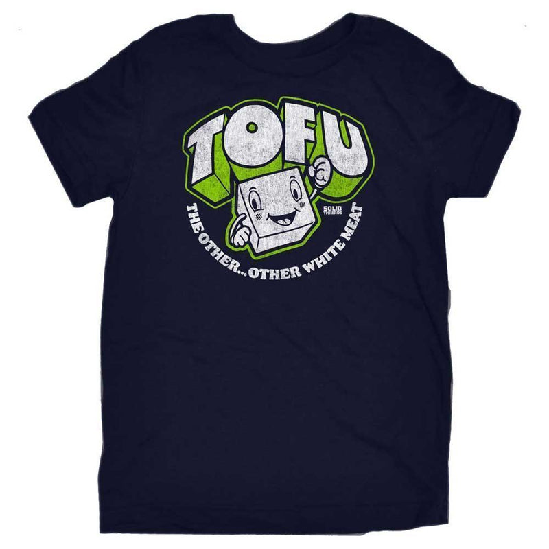 Toddler's Tofu,The Other Other White Meat Retro Tee | SOLID THREADS