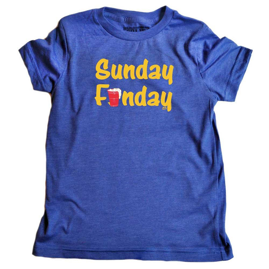 Toddler's Sunday Funday T-shirt