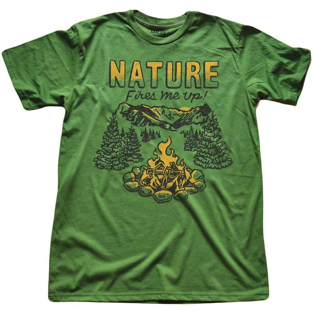 Nature Fires Me Up Vintage T-shirt | SOLID THREADS