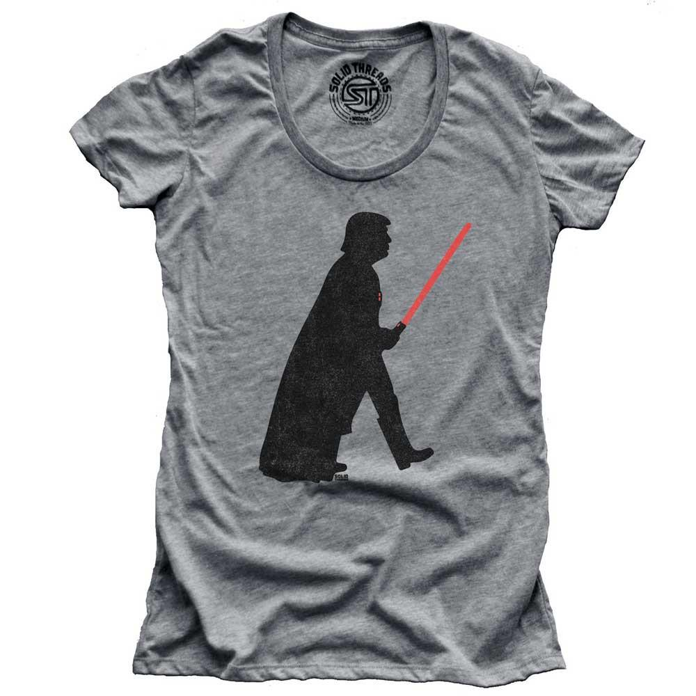 Women's Trump Vader Vintage Inspired T-shirt | SOLID THREADS