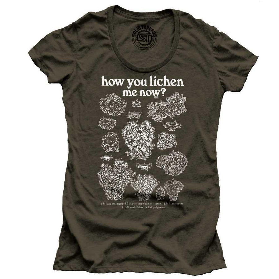 Women's How You Lichen Me Now Vintage T-Shirt | SOLID THREADS