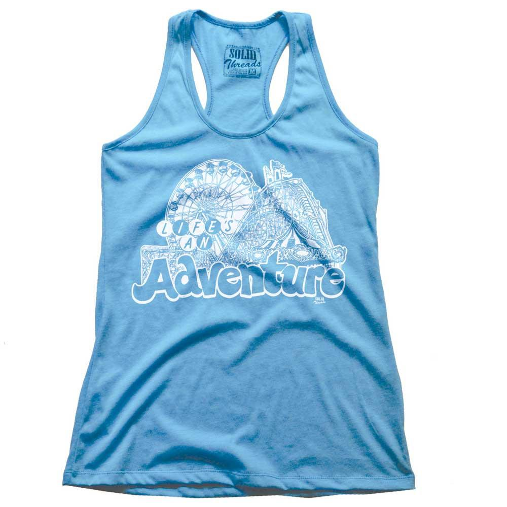 Women's Life's An Adventure Vintage Tank Top | SOLID THREADS