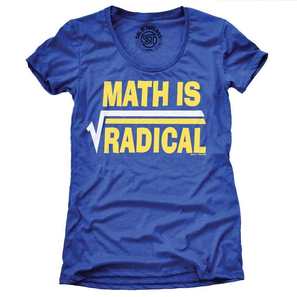 Women's Math Is Radical Vintage T-shirt | SOLID THREADS