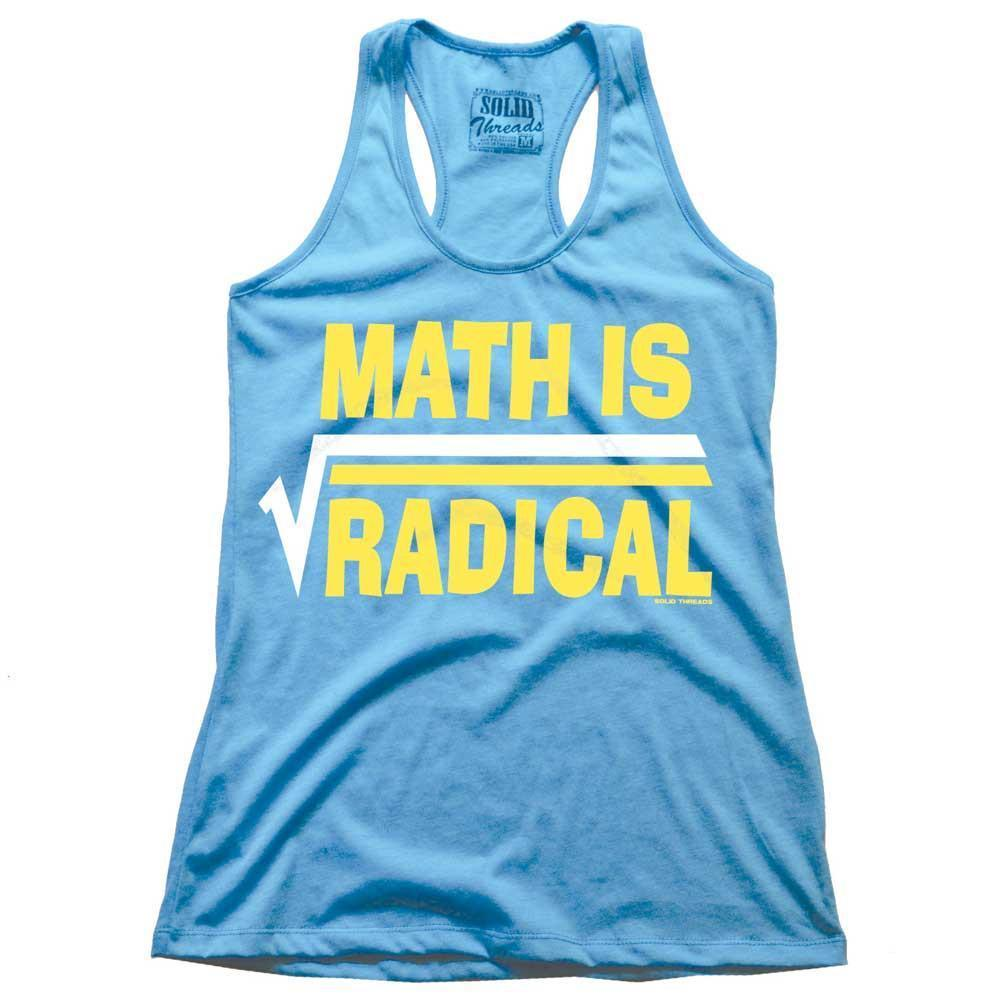 Women's Math Is Radical Vintage Tank Top | SOLID THREADS