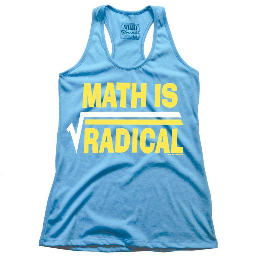 Women's Math Is Radical Tank Top