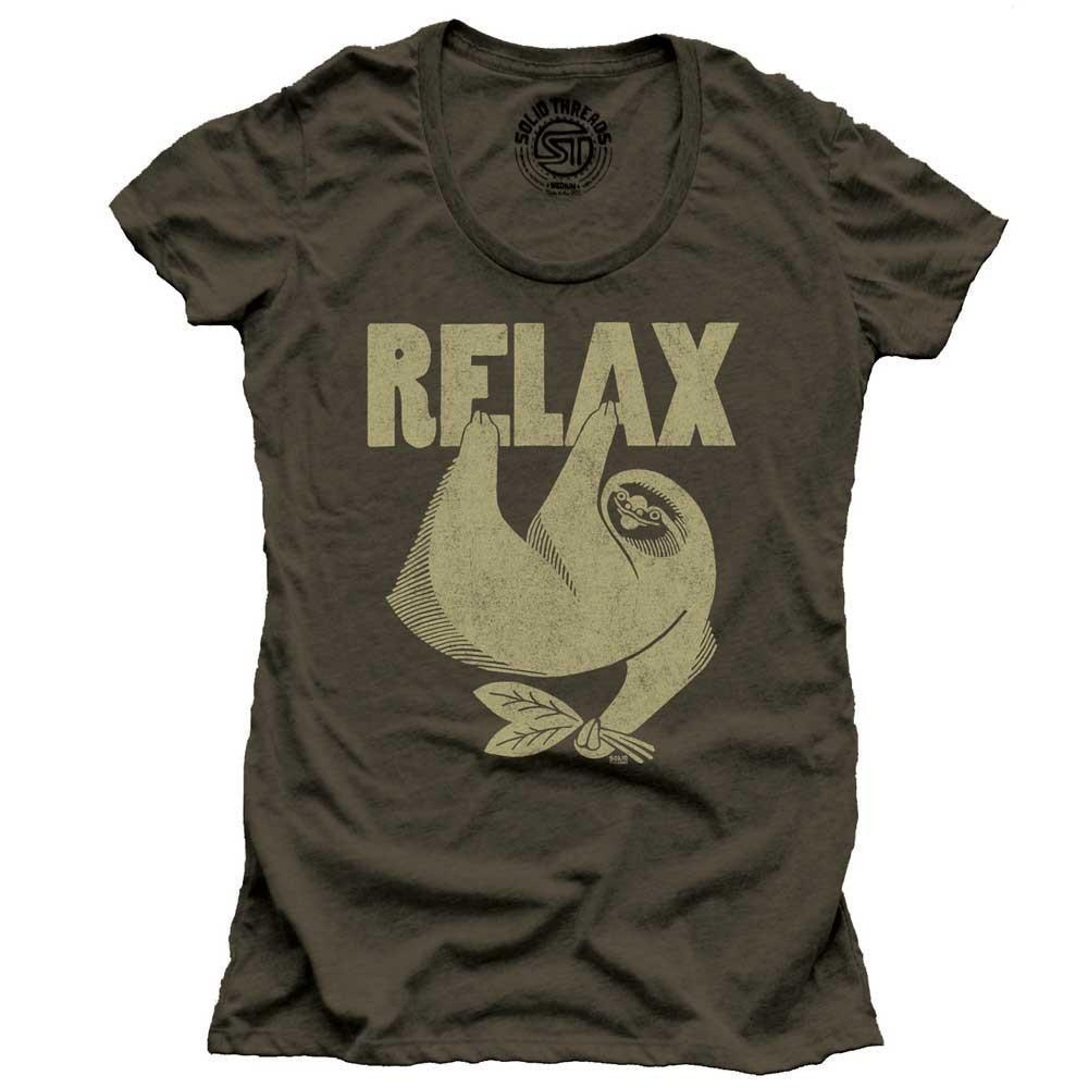 Women's Relax Vintage T-Shirt | SOLID THREADS