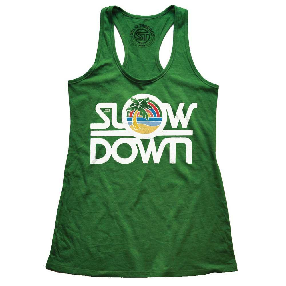 Women's Slow Down Vintage Tank Top | SOLID THREADS