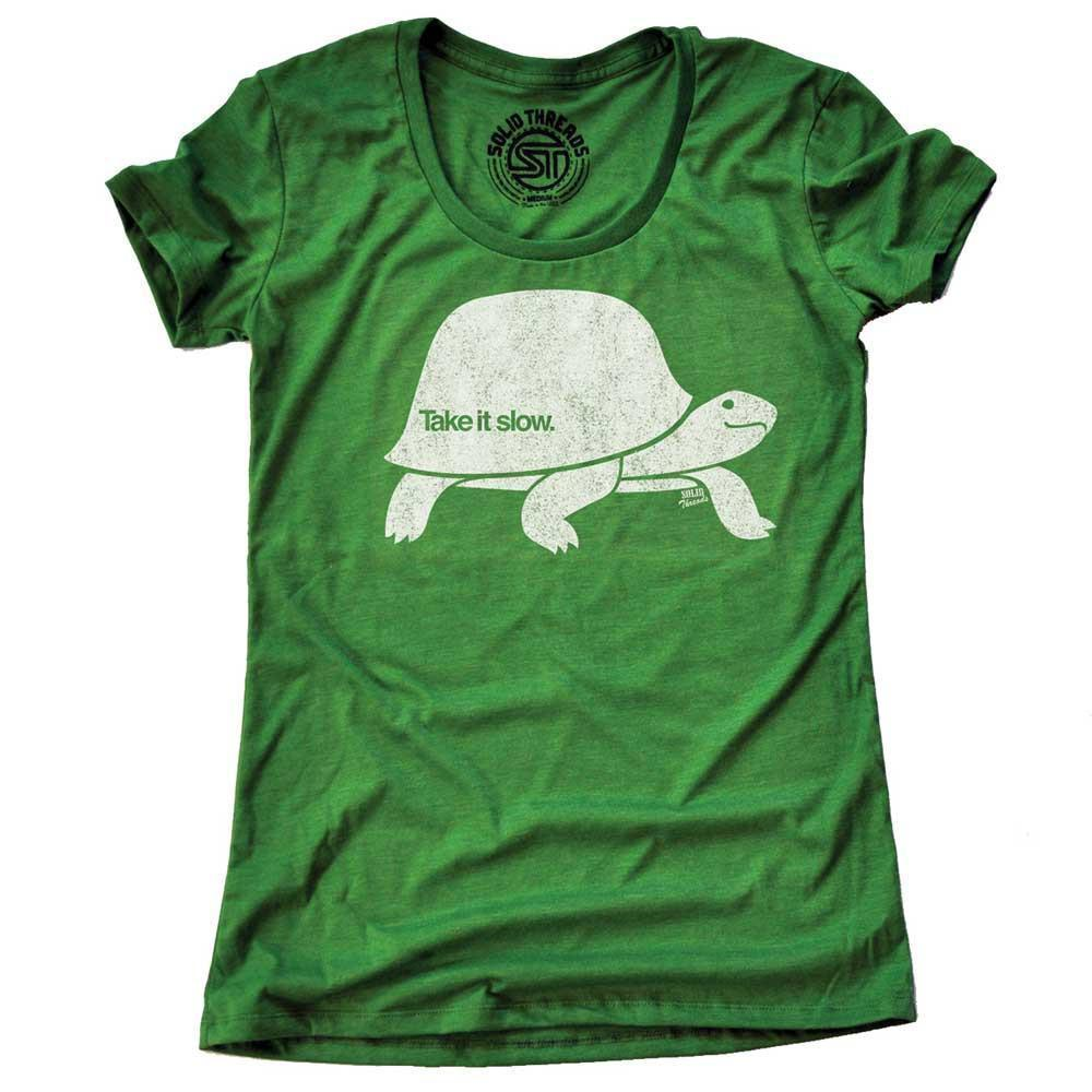 Women's Take It Slow Vintage T-shirt | SOLID THREADS