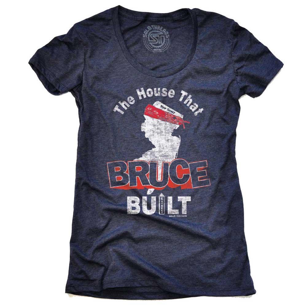 Women's The House That Bruce Built Vintage T-shirt | SOLID THREADS
