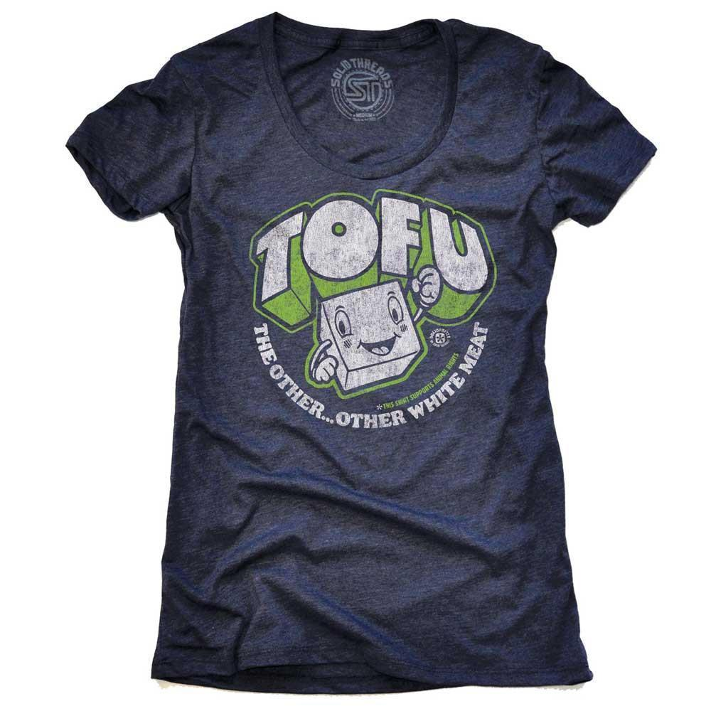 Women's Tofu,The Other Other White Meat Vintage T-shirt | SOLID THREADS
