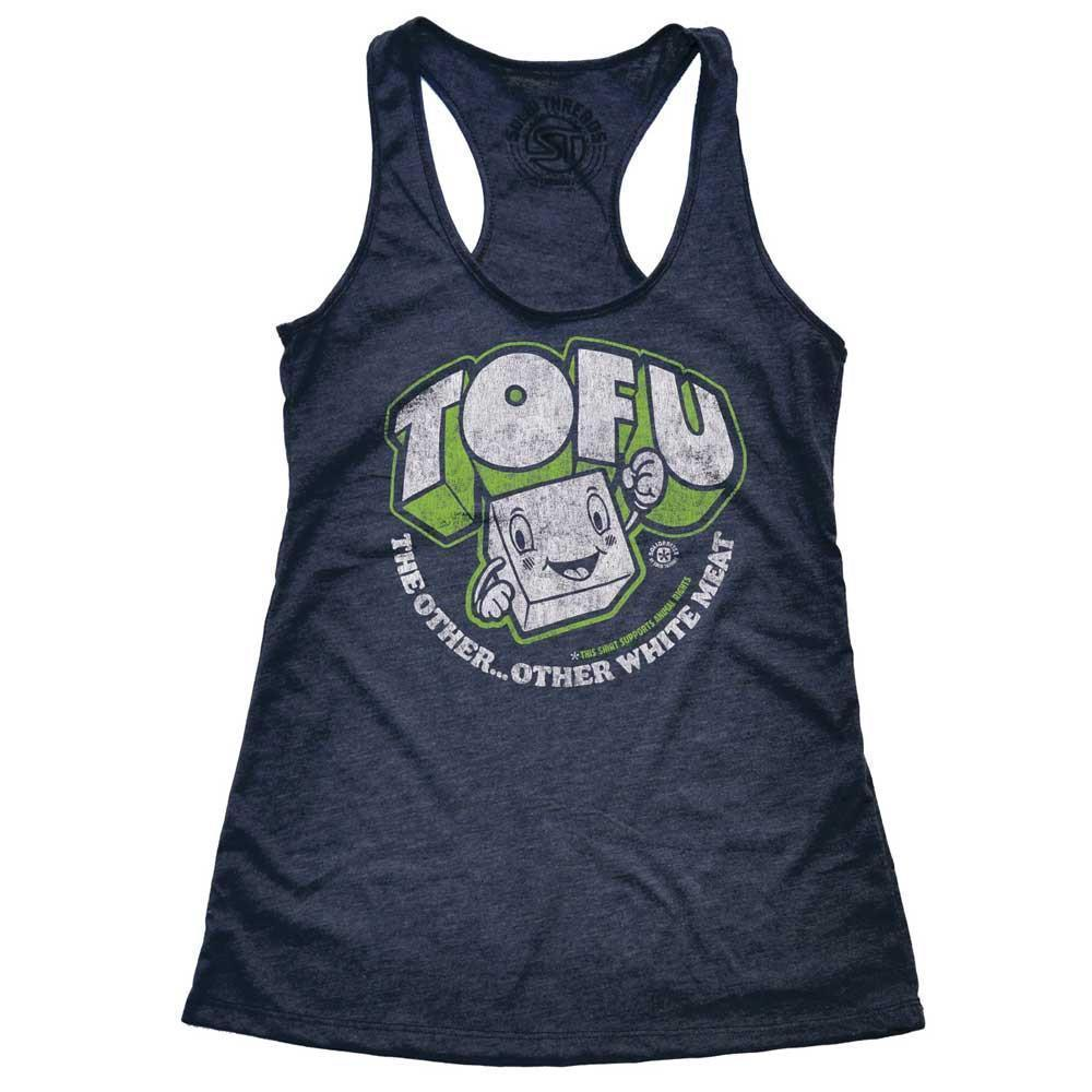 Women's Tofu,The Other Other White Meat Vintage Tank Top | SOLID THREADS