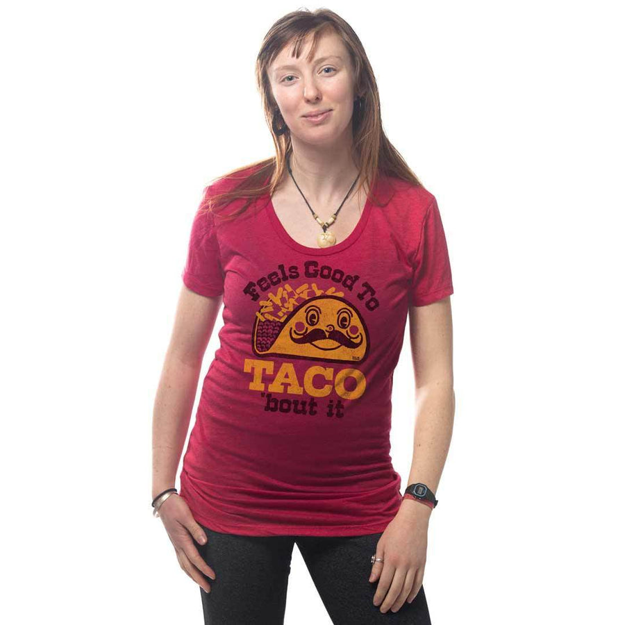 Women's Feels Good To Taco Bout It Vintage T-shirt | SOLID THREADS