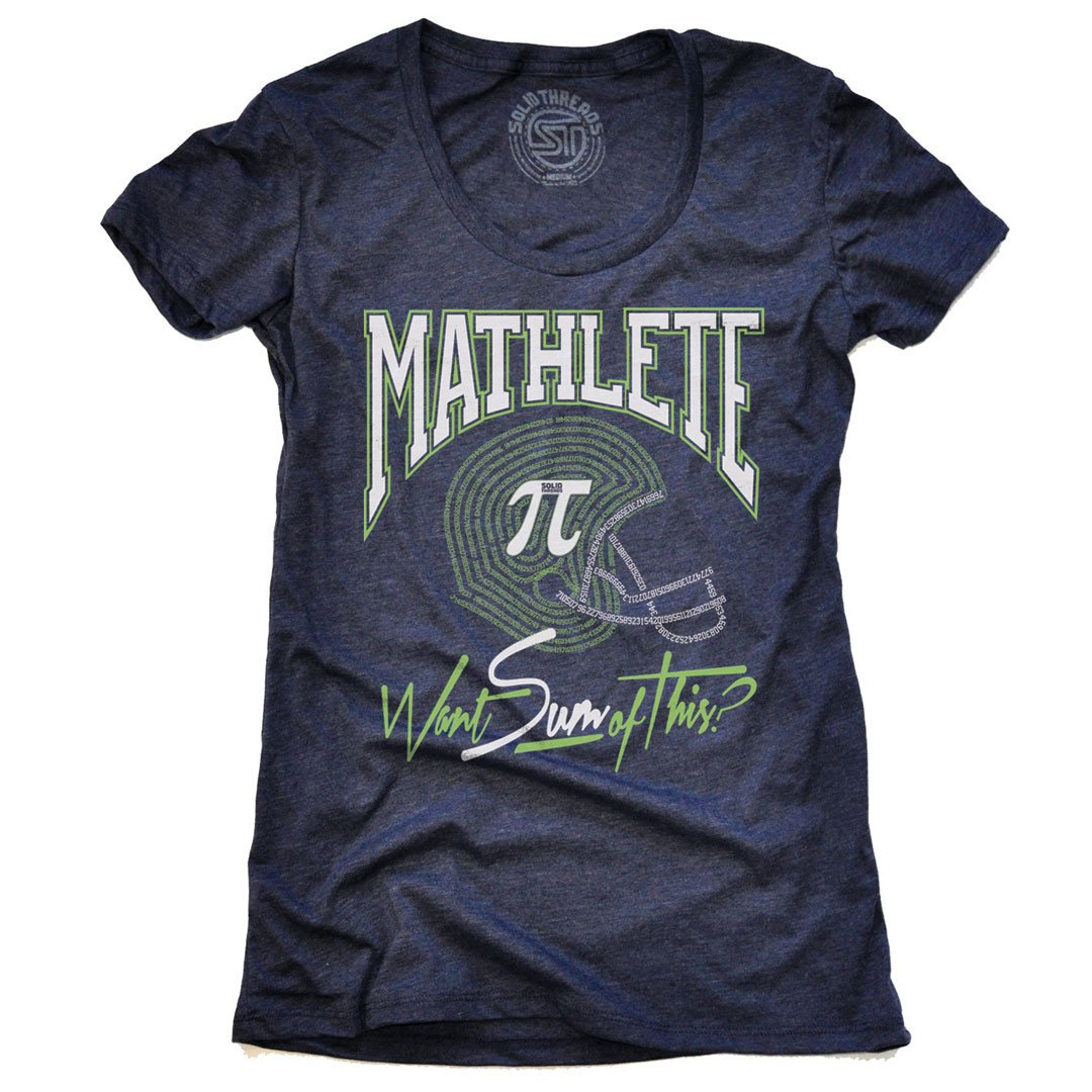 Women's Mathletes Vintage T-shirts | SOLID THREADS