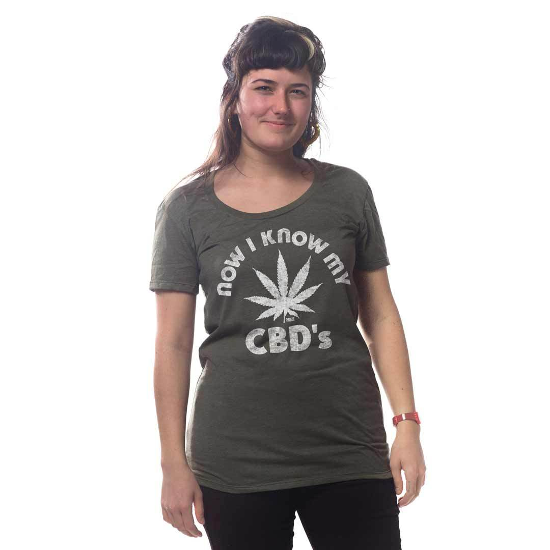 Vintage Cannabis with Meditating Woman Long Sleeve Vintage Funny Onesies