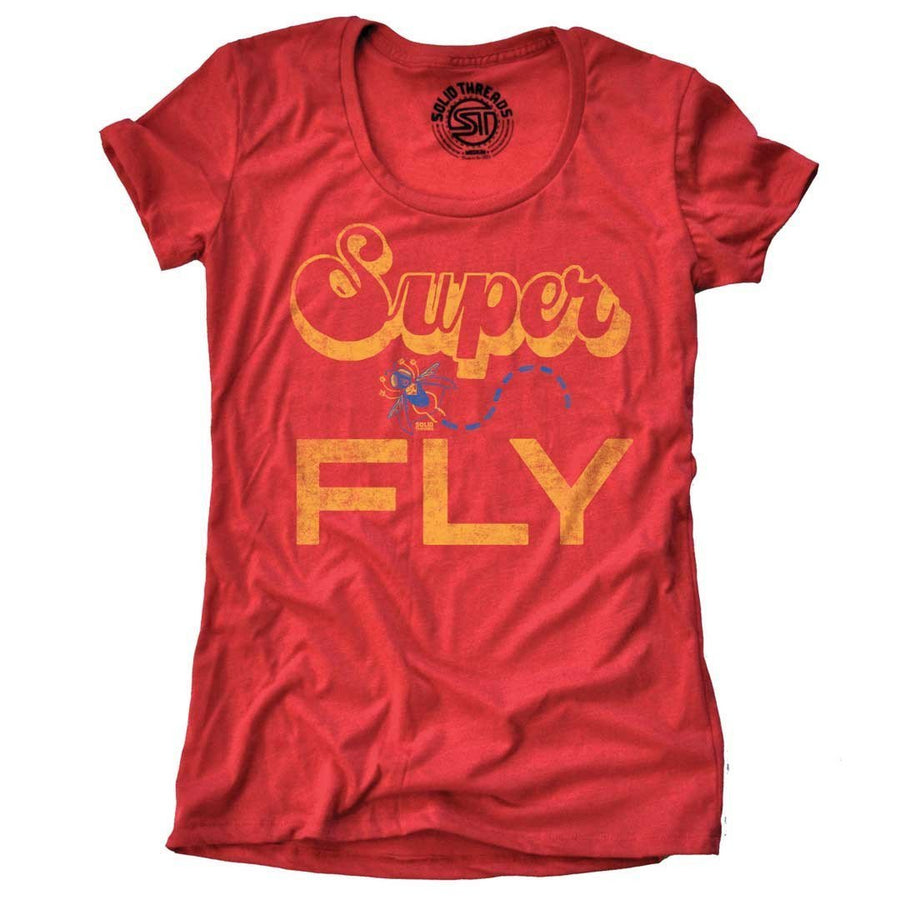 Women's Superfly Vintage T-shirt | SOLID THREADS