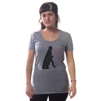 Women's Trump Vader Vintage Inspired T-shirt on Model | SOLID THREADS