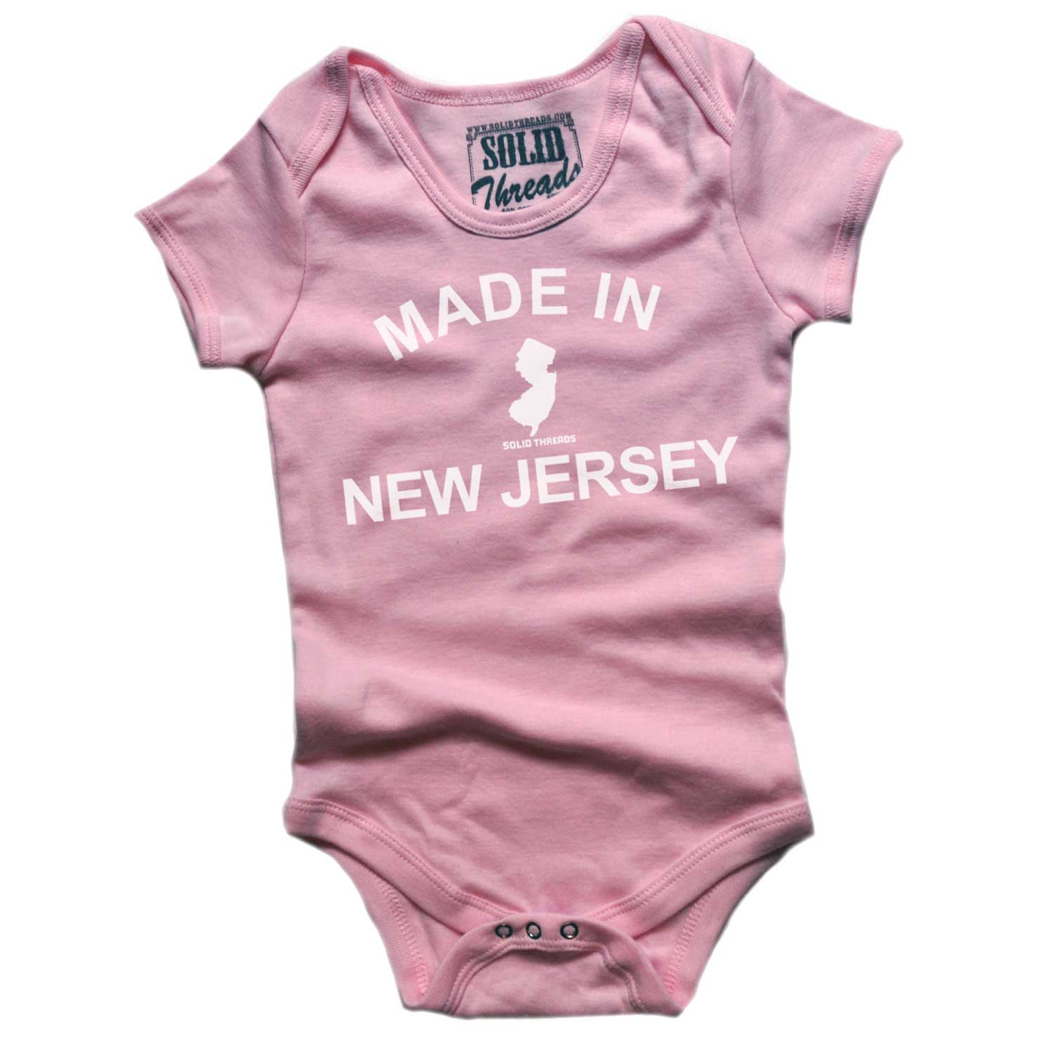 Baby Made In New Jersey One Piece Romper