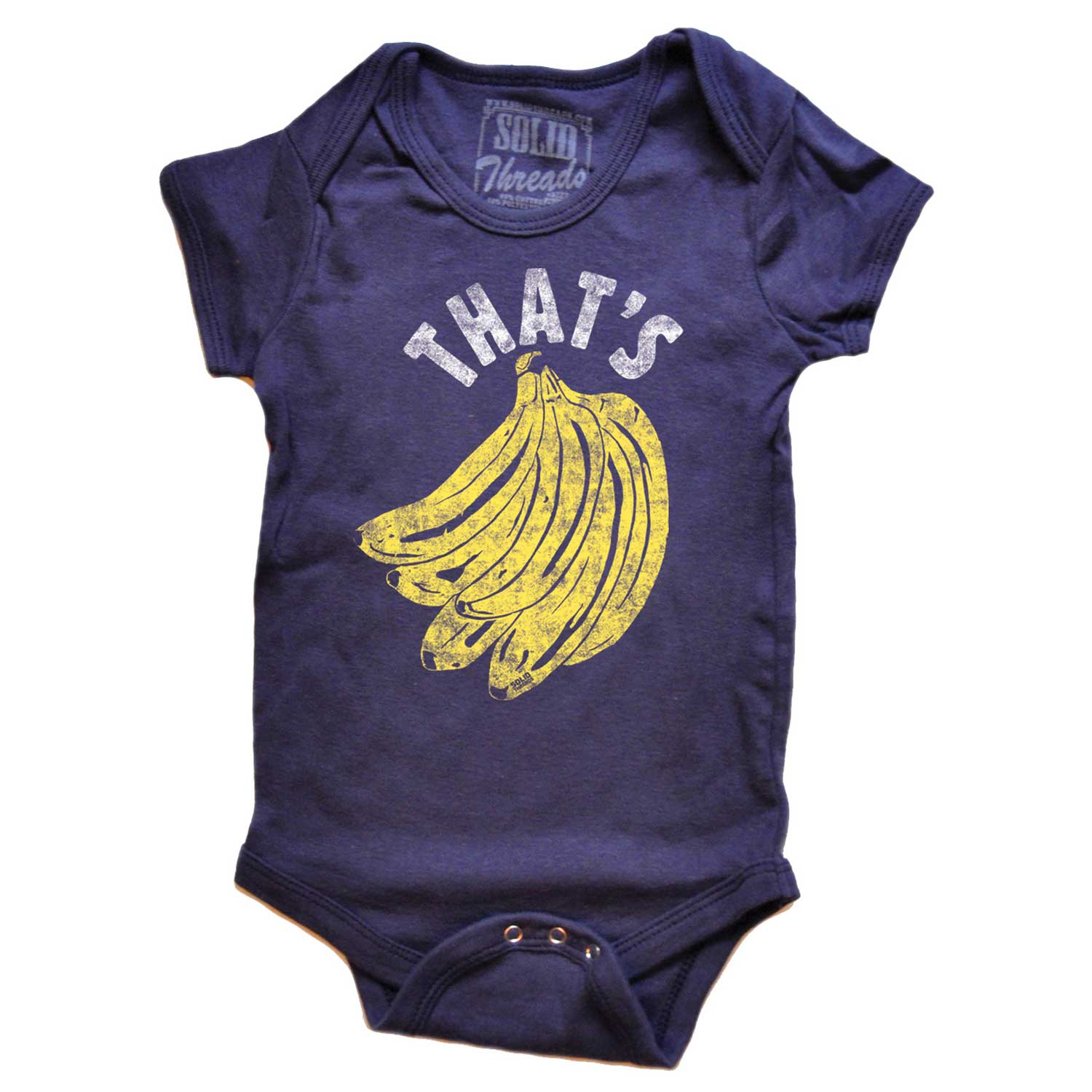 Baby That's Bananas One Piece Romper