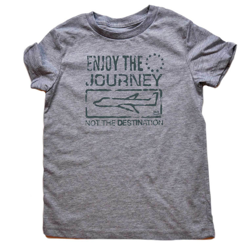 Toddler's Enjoy the Journey Retro Tee | SOLID THREADS