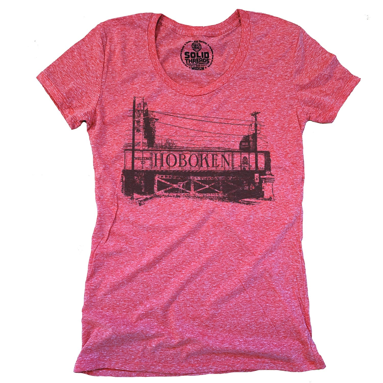 Women's Hoboken Bridge T-shirt