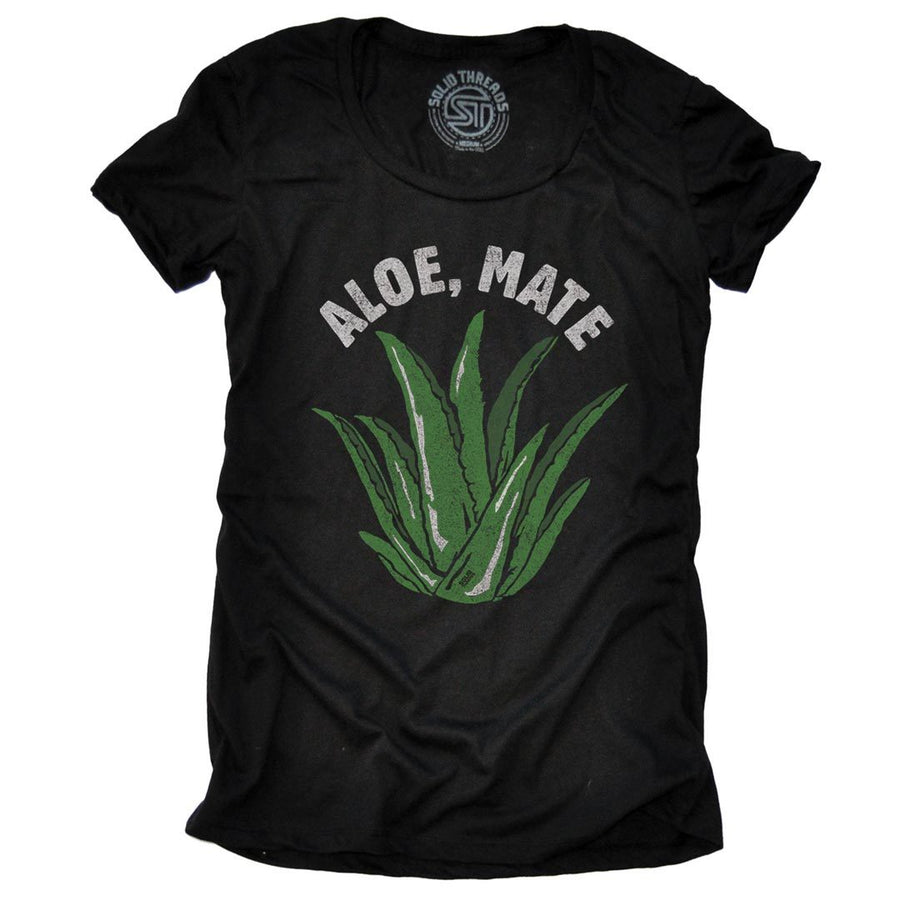 Women's Aloe, Mate Vintage Inspired T-Shirt | SOLID THREADS