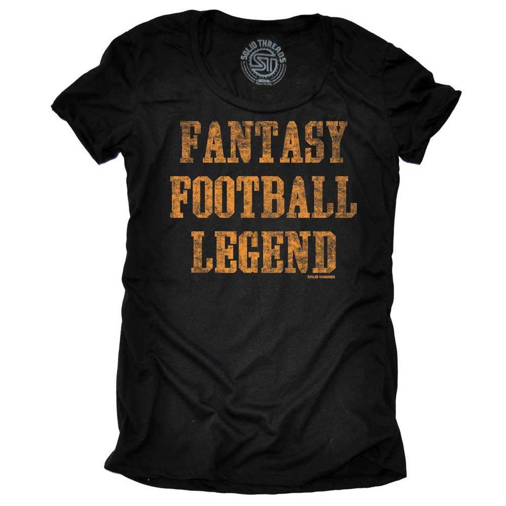 Women's Fantasy Football Legend Vintage T-shirt | SOLID THREADS