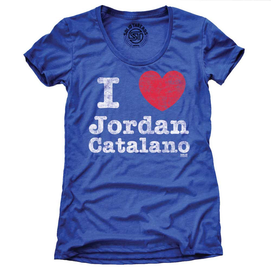 Women's I Heart Jordan Catalano Vintage T-shirt | SOLID THREADS