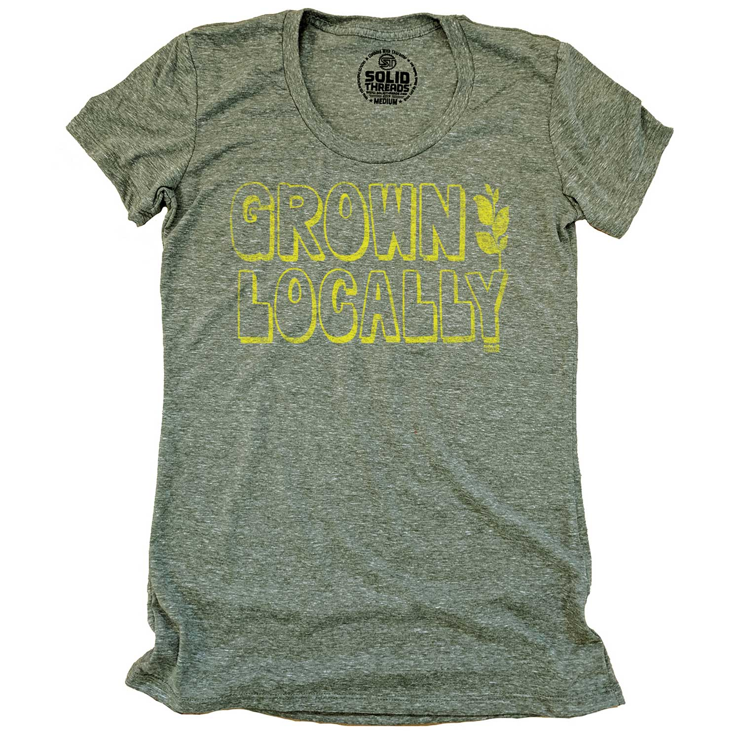 Women's Grown Locally Vintage T-shirt | SOLID THREADS